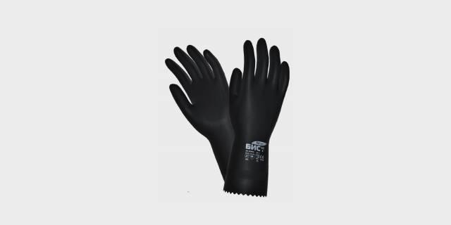 Перчатки КЩС тип 2 тонкие.