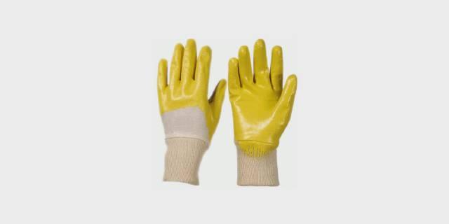 Перчатки трикотажные с легким нитриловым покрытием
