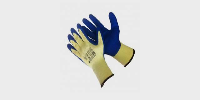 Перчатки акриловые с полимерным покрытием из вспененного латекса