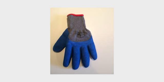 Перчатки трикотажные с покрытием из вспененного КАУЧУКА