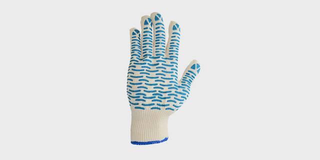 Перчатки вязаные х/б с ПВХ «Волна» или «Точка»