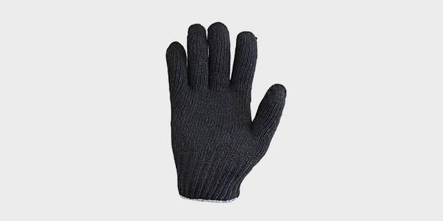 Перчатки п/ш двойные «ЗИМА», черные